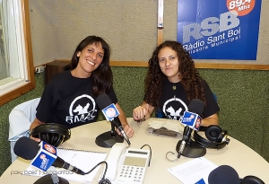 Ana Lorca y Lourdes García RMAC Sant Boi
