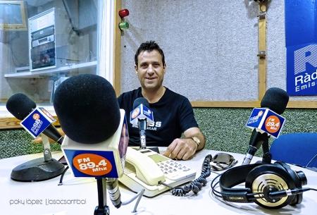 Amadeu Alemany a Ràdio Sant Boi