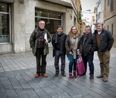Agustin Rodriguez, josep ros, Anna Donaire, Julio Pulido i Lluis Aracil