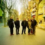 Agustin Rodriguez, Josep Ros, Julio Pulido, Anna Donaire i Luis Aracil
