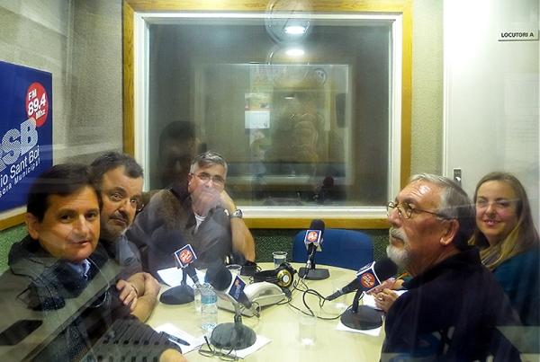 Josep Ros, Julio Pulido, Luis Aracil, Anna Donaire i Agustin Rodriguez