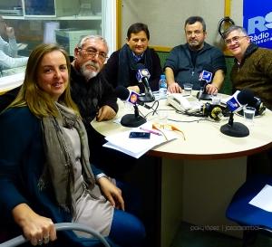 Anna donaire, Agustin Rodriguez, Josep Ros, Julio Pulido i Luis Aracil
