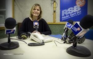 Lluisa Moret a Ràdio Sant Boi