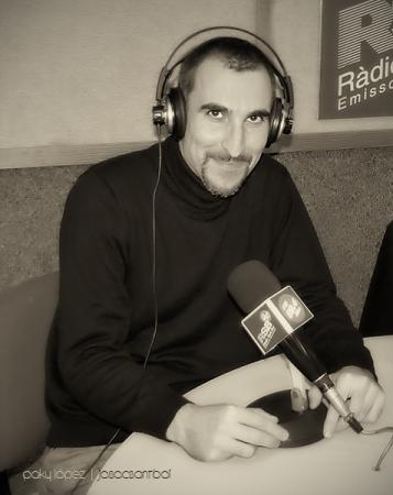 Pere Koniec a Ràdio Sant Boi
