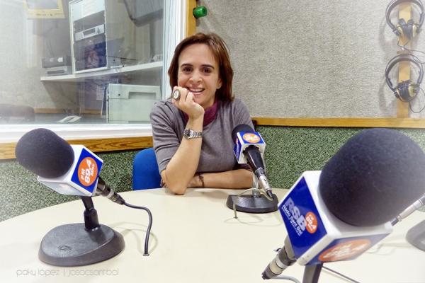 Emma Torres a Ràdio Sant Boi