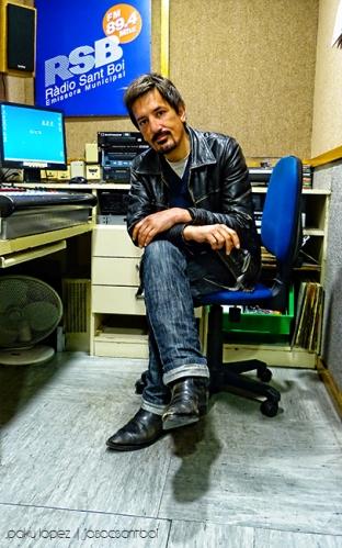 Jesús Sarabia a Ràdio Sant Boi