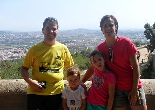 Emma amb la seva familia