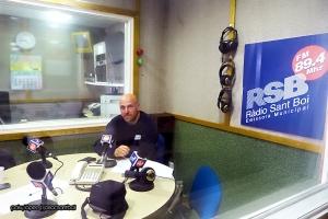 Eduard Balsells a Ràdio Sant Boi