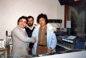 10_José Luis Diaz, Antonio Moreno y vesitante Japones.