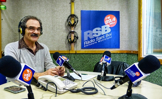 Xavi Torrents a Ràdio Sant Boi