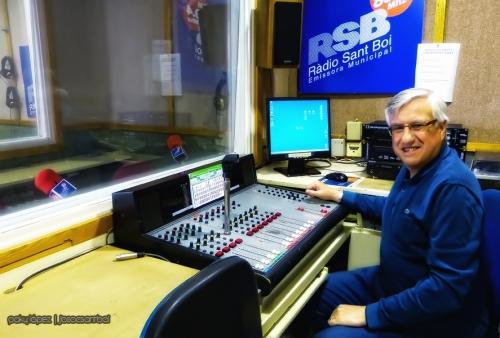 Carles a Ràdio Sant Boi
