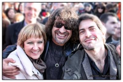 Montse Mirabent, Pep Sala i Oscar Muñoz Marató TV3 Sant Boi 2009