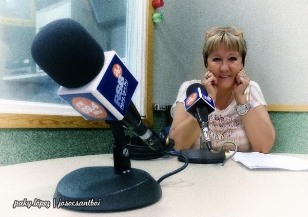 Montse Mirabent a Ràdio Sant Boi