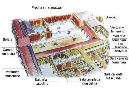 maqueta termes romanes