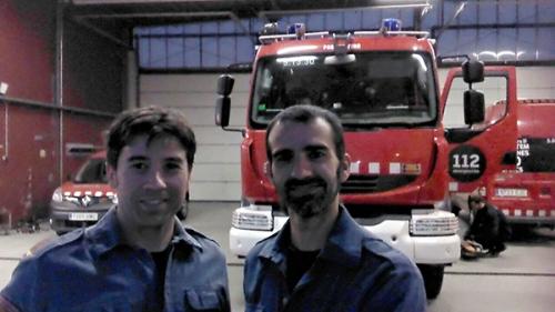 Pablo i Lluis_parc bombers sant boi