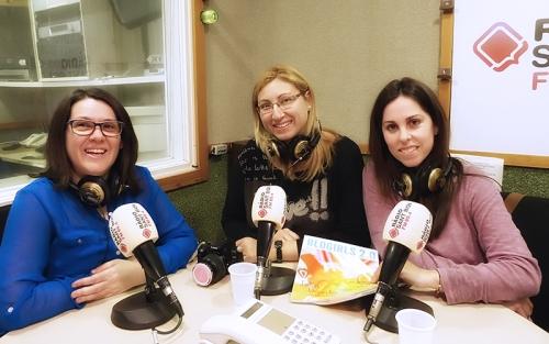 Xènia Roca, Jessica Yagüe y Eli Pedrosa