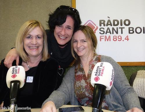 Carmen Sarri, Isabel García i Vanesa Miquel