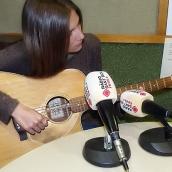 Maria Martí a l'entrevista