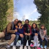 Paseo con mis hijos por Barcelona